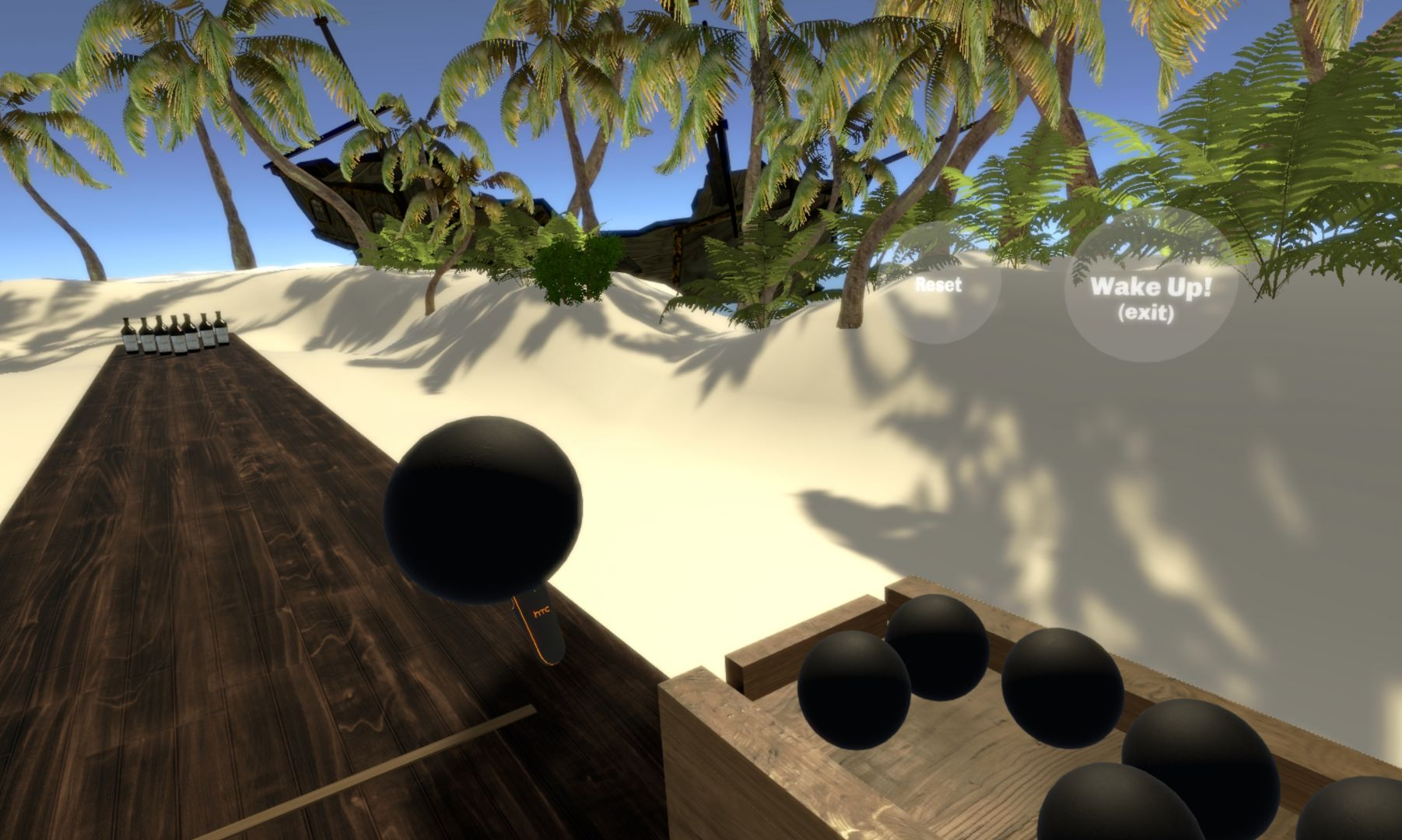Beach Bowling Dream VR screenshot